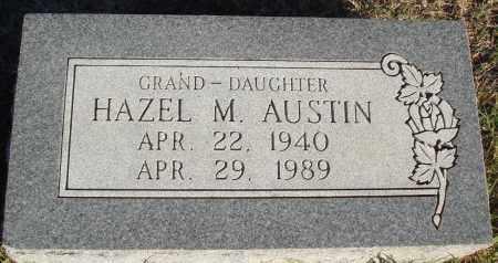 AUSTIN, HAZEL M - Conway County, Arkansas | HAZEL M AUSTIN - Arkansas Gravestone Photos