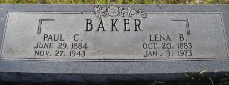 BAKER, PAUL C - Conway County, Arkansas | PAUL C BAKER - Arkansas Gravestone Photos
