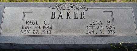 BAKER, LENA B - Conway County, Arkansas | LENA B BAKER - Arkansas Gravestone Photos