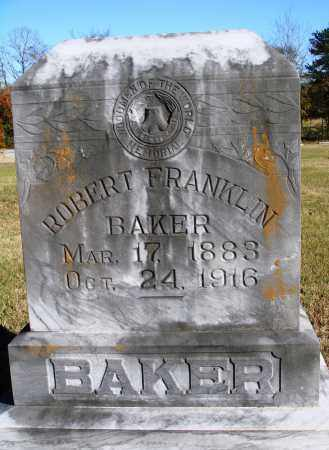 BAKER, ROBERT FRANKLIN - Conway County, Arkansas | ROBERT FRANKLIN BAKER - Arkansas Gravestone Photos