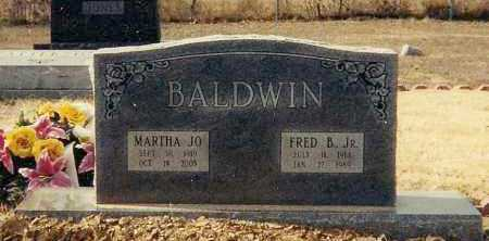 BALDWIN, JR., FRED B. - Conway County, Arkansas | FRED B. BALDWIN, JR. - Arkansas Gravestone Photos