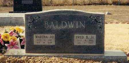 BALDWIN, MARTHA JO - Conway County, Arkansas | MARTHA JO BALDWIN - Arkansas Gravestone Photos