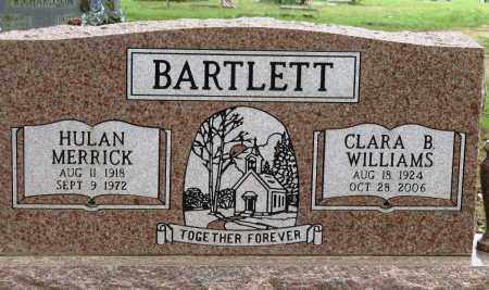 BARTLETT, CLARA B. WILLIAMS - Conway County, Arkansas | CLARA B. WILLIAMS BARTLETT - Arkansas Gravestone Photos