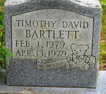 BARTLETT, TIMOTHY DAVID - Conway County, Arkansas | TIMOTHY DAVID BARTLETT - Arkansas Gravestone Photos