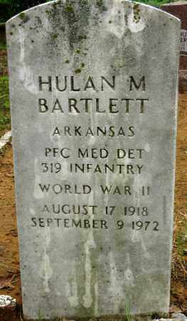 BARTLETT (VETERAN WWII), HULAN M - Conway County, Arkansas | HULAN M BARTLETT (VETERAN WWII) - Arkansas Gravestone Photos