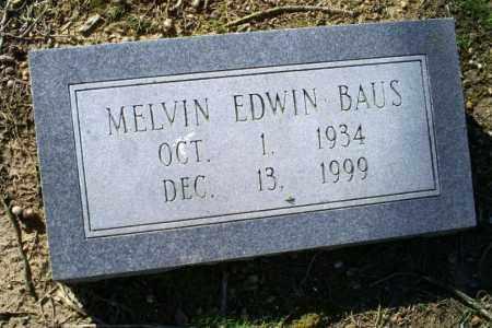 BAUS, MELVIN EDWIN - Conway County, Arkansas | MELVIN EDWIN BAUS - Arkansas Gravestone Photos