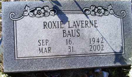 BAUS, ROXIE LAVERNE - Conway County, Arkansas | ROXIE LAVERNE BAUS - Arkansas Gravestone Photos