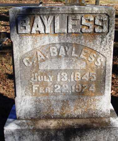 BAYLESS, C A - Conway County, Arkansas | C A BAYLESS - Arkansas Gravestone Photos