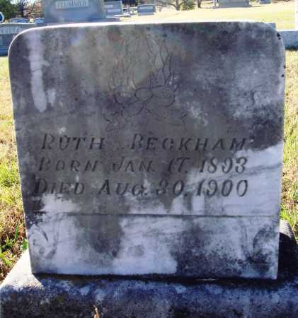 BECKHAM, RUTH - Conway County, Arkansas | RUTH BECKHAM - Arkansas Gravestone Photos