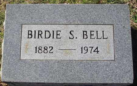 BELL, BIRDIE S. - Conway County, Arkansas   BIRDIE S. BELL - Arkansas Gravestone Photos