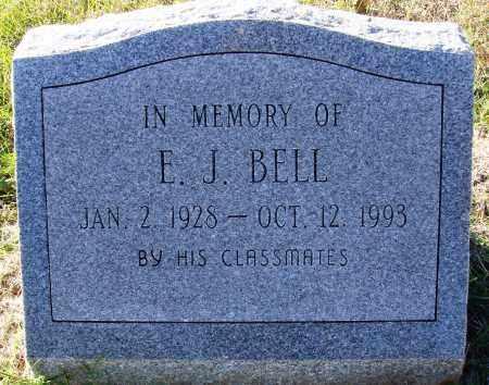 BELL, E. J. - Conway County, Arkansas | E. J. BELL - Arkansas Gravestone Photos