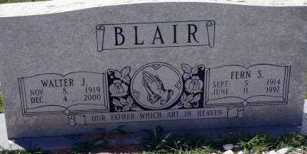 BLAIR, WALTER J. - Conway County, Arkansas | WALTER J. BLAIR - Arkansas Gravestone Photos
