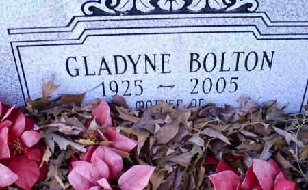 BOLTON, GLADYNE - Conway County, Arkansas | GLADYNE BOLTON - Arkansas Gravestone Photos