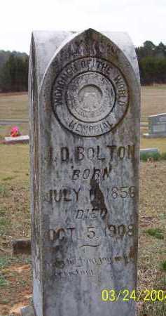 BOLTON, J. D. (JARRETT D.) - Conway County, Arkansas | J. D. (JARRETT D.) BOLTON - Arkansas Gravestone Photos