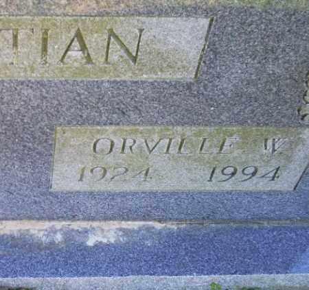 BOSTIAN, ORVILLE W. - Conway County, Arkansas | ORVILLE W. BOSTIAN - Arkansas Gravestone Photos