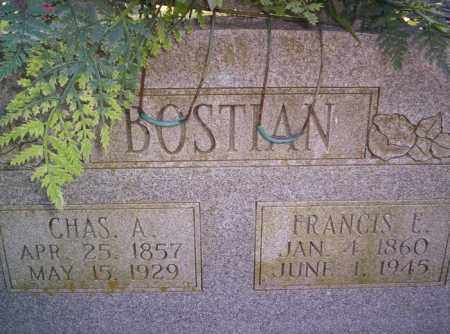 BOSTIAN, CHARLES A. - Conway County, Arkansas | CHARLES A. BOSTIAN - Arkansas Gravestone Photos
