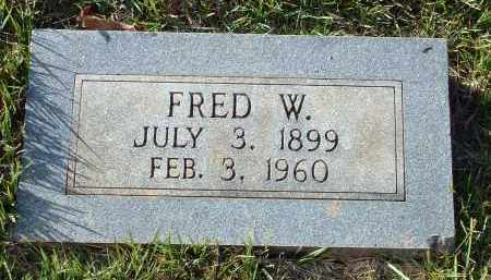 BOSTIAN, FRED W. - Conway County, Arkansas | FRED W. BOSTIAN - Arkansas Gravestone Photos