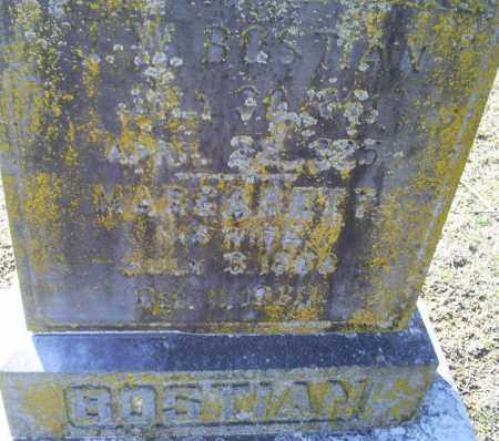 BOSTIAN, J. W. - Conway County, Arkansas | J. W. BOSTIAN - Arkansas Gravestone Photos