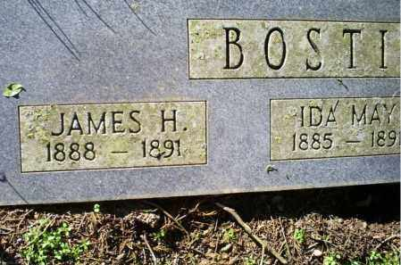 BOSTIAN, JAMES H. - Conway County, Arkansas | JAMES H. BOSTIAN - Arkansas Gravestone Photos