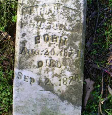 BOSTIAN, MARTHA C. - Conway County, Arkansas | MARTHA C. BOSTIAN - Arkansas Gravestone Photos