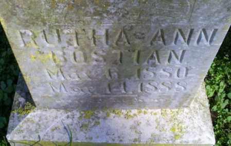 BOSTIAN, RUTHA ANN - Conway County, Arkansas | RUTHA ANN BOSTIAN - Arkansas Gravestone Photos