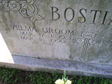 GROOM BOSTIAN, VELMA - Conway County, Arkansas | VELMA GROOM BOSTIAN - Arkansas Gravestone Photos