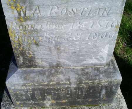 BOSTIAN, W. A. - Conway County, Arkansas | W. A. BOSTIAN - Arkansas Gravestone Photos