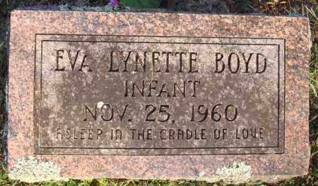 BOYD, EVA LYNETTE - Conway County, Arkansas | EVA LYNETTE BOYD - Arkansas Gravestone Photos