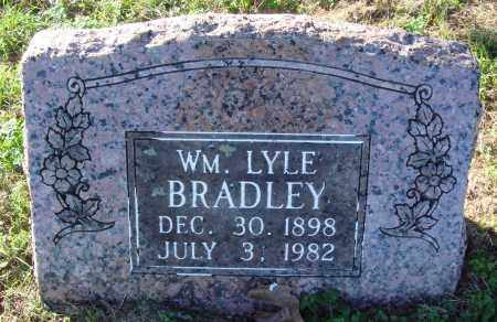 BRADLEY, WILLIAM LYLE - Conway County, Arkansas | WILLIAM LYLE BRADLEY - Arkansas Gravestone Photos