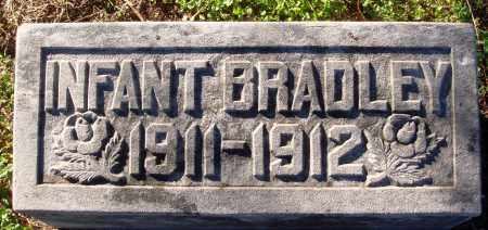 BRADLEY, INFANT - Conway County, Arkansas | INFANT BRADLEY - Arkansas Gravestone Photos