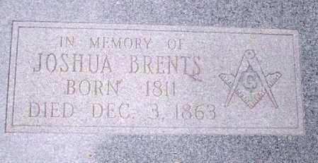 BRENTS, JOSHUA - Conway County, Arkansas | JOSHUA BRENTS - Arkansas Gravestone Photos