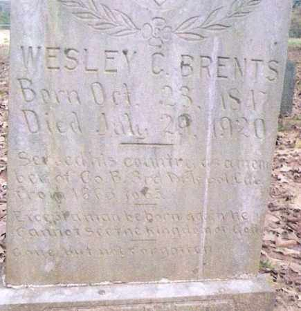 BRENTS, WESLEY C. - Conway County, Arkansas | WESLEY C. BRENTS - Arkansas Gravestone Photos