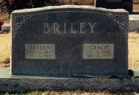 BRILEY, GRACE - Conway County, Arkansas | GRACE BRILEY - Arkansas Gravestone Photos