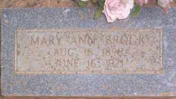 BROCK, MARY ANN - Conway County, Arkansas | MARY ANN BROCK - Arkansas Gravestone Photos