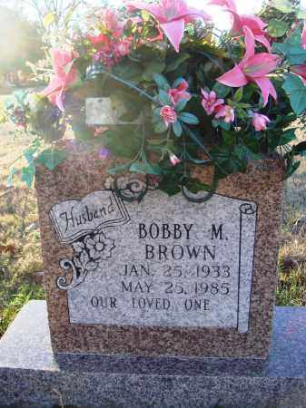 BROWN, BOBBY M. - Conway County, Arkansas | BOBBY M. BROWN - Arkansas Gravestone Photos