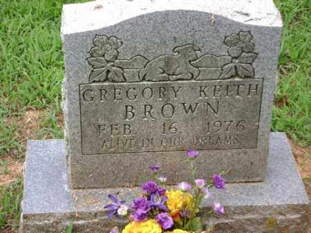 BROWN, GREGORY KEITH - Conway County, Arkansas | GREGORY KEITH BROWN - Arkansas Gravestone Photos