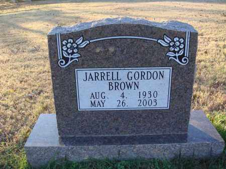 BROWN, JARRELL GORDON - Conway County, Arkansas | JARRELL GORDON BROWN - Arkansas Gravestone Photos