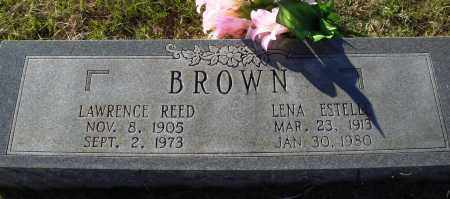 BROWN, LAWRENCE REED - Conway County, Arkansas | LAWRENCE REED BROWN - Arkansas Gravestone Photos