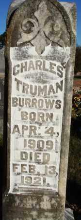 BURROWS, CHARLES TRUMAN - Conway County, Arkansas | CHARLES TRUMAN BURROWS - Arkansas Gravestone Photos