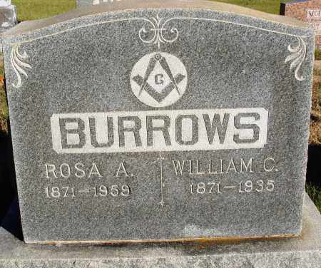 BURROWS, WILLIAM C. - Conway County, Arkansas | WILLIAM C. BURROWS - Arkansas Gravestone Photos