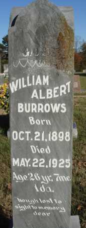 BURROWS, WILLIAM ALBERT - Conway County, Arkansas | WILLIAM ALBERT BURROWS - Arkansas Gravestone Photos