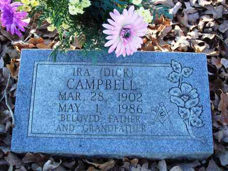 """CAMPBELL, IRA DICKSON """"DICK"""" - Conway County, Arkansas 