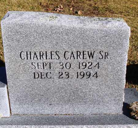 CAREW SR., CHARLES - Conway County, Arkansas | CHARLES CAREW SR. - Arkansas Gravestone Photos