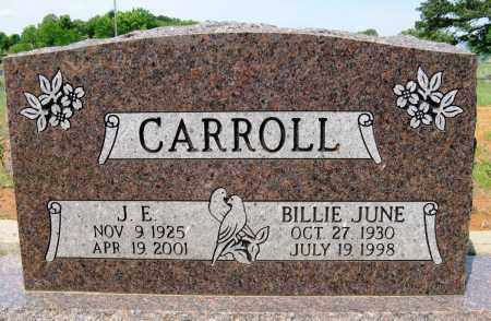 CARROLL, BILLIE JUNE - Conway County, Arkansas | BILLIE JUNE CARROLL - Arkansas Gravestone Photos