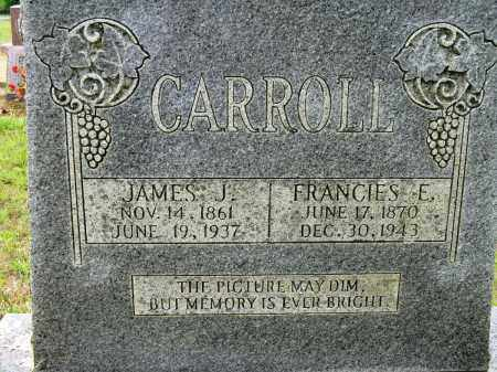 CARROLL, JAMES J - Conway County, Arkansas | JAMES J CARROLL - Arkansas Gravestone Photos