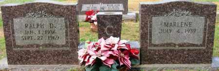 CARROLL, RALPH D - Conway County, Arkansas   RALPH D CARROLL - Arkansas Gravestone Photos