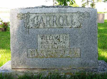 CARROLL, WILLIAM O - Conway County, Arkansas | WILLIAM O CARROLL - Arkansas Gravestone Photos