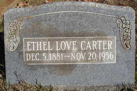 CARTER, ETHEL - Conway County, Arkansas | ETHEL CARTER - Arkansas Gravestone Photos