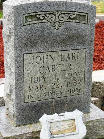CARTER, JOHN EARL - Conway County, Arkansas | JOHN EARL CARTER - Arkansas Gravestone Photos