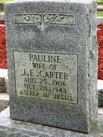 CARTER, PAULINE - Conway County, Arkansas   PAULINE CARTER - Arkansas Gravestone Photos
